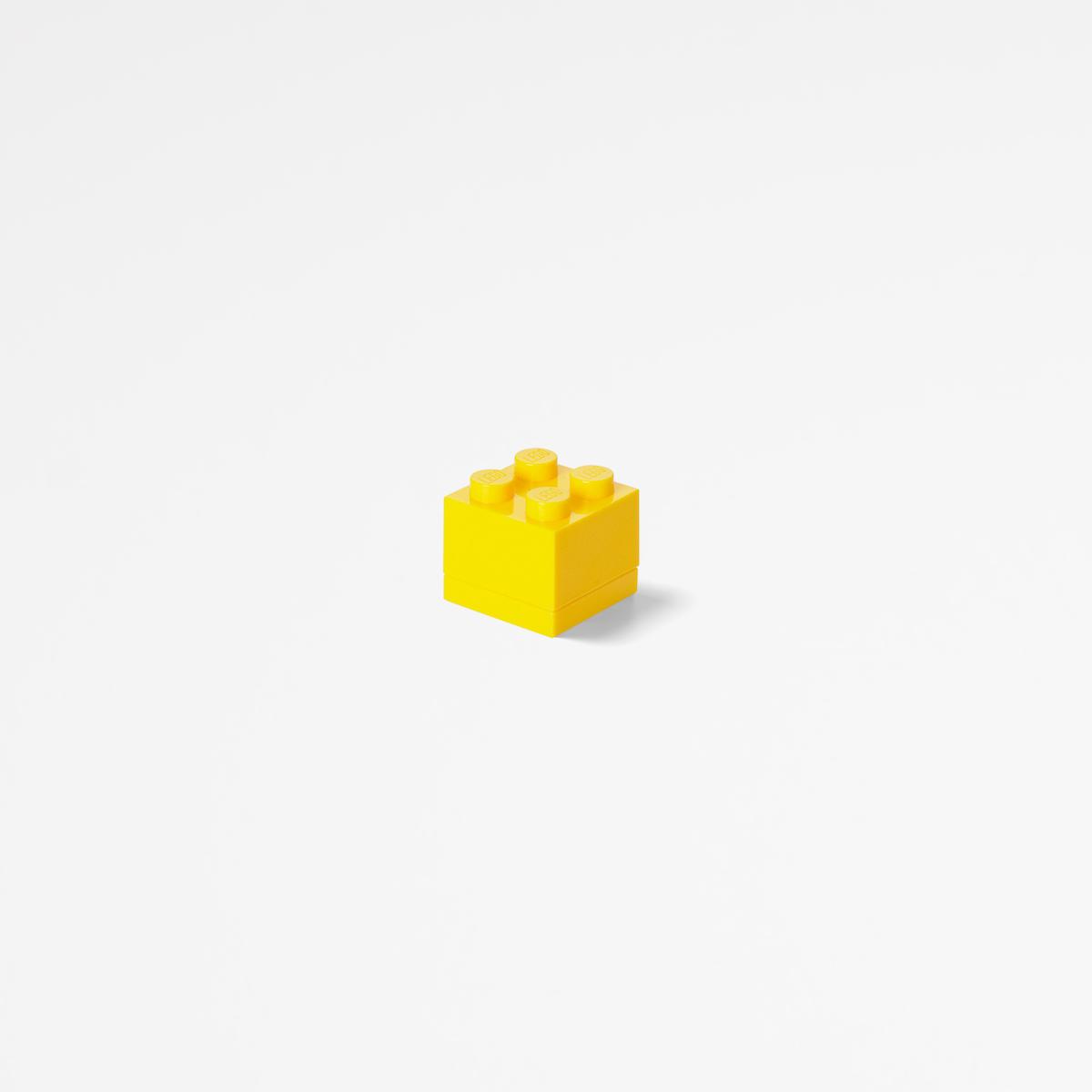 Lego mini box4, plastic, small, food, healthy, kids, yellow