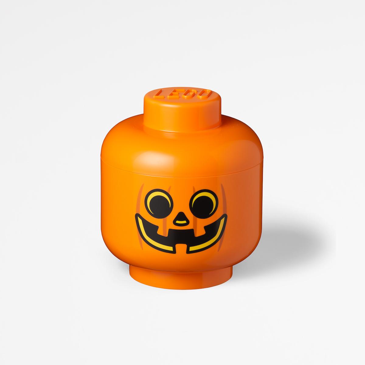 LEGO® Storage Pumpkin Head