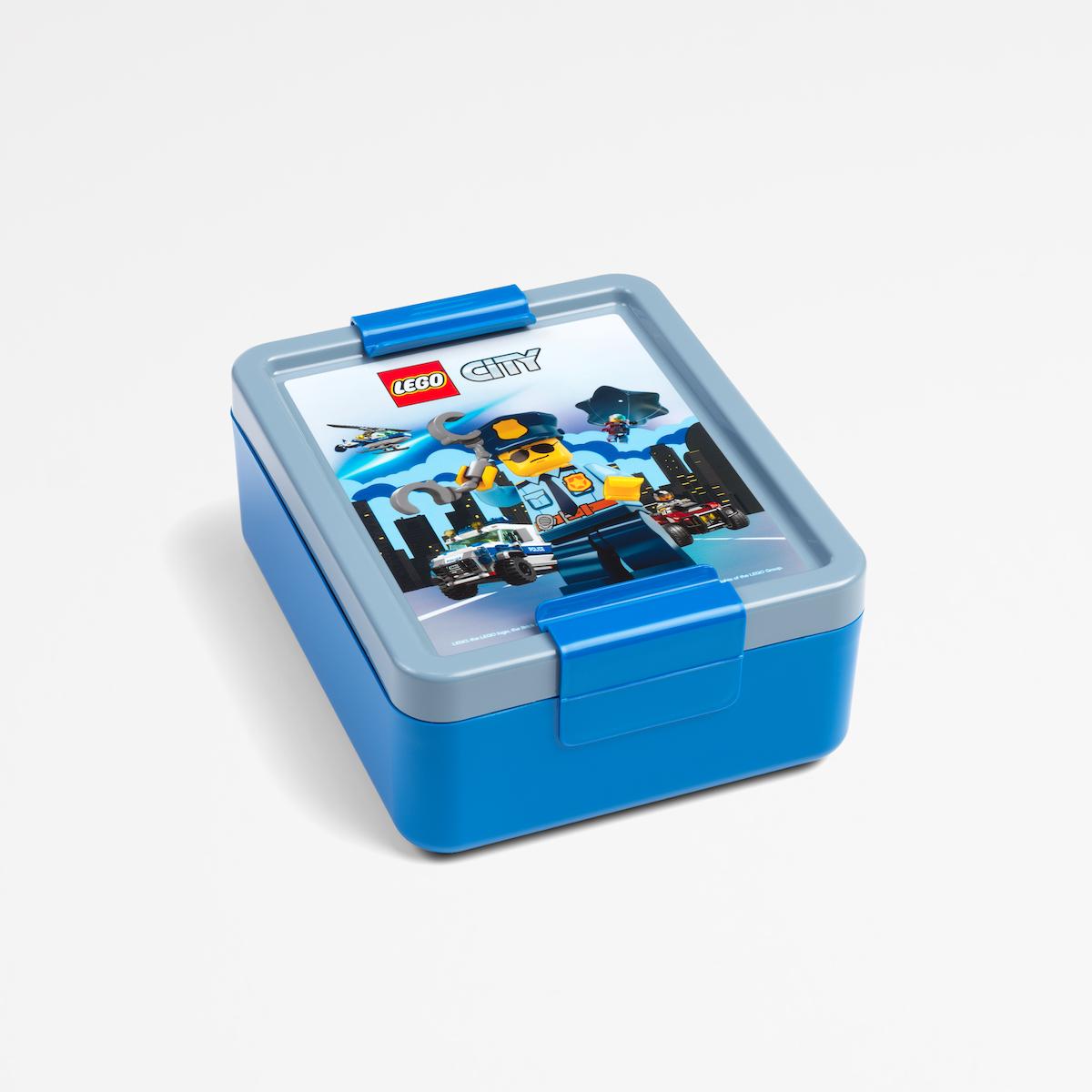 Lego lunch box, kid, box, buildable, sandwich, food, fun