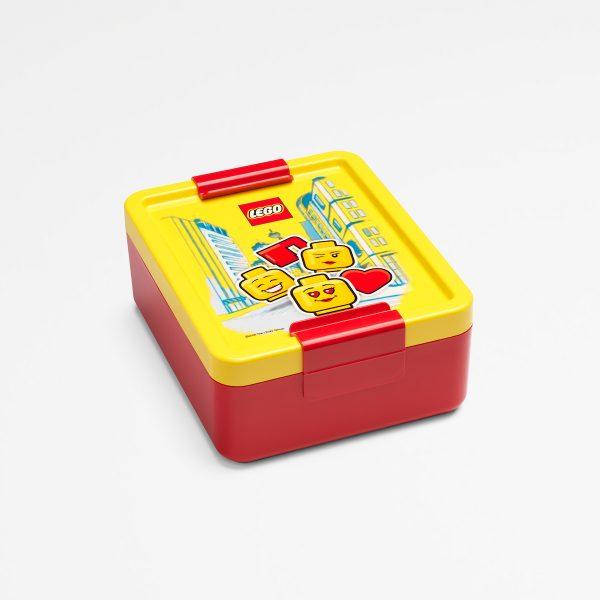 Lego lunch box, lunch, food, children, toddler, storage, yellow