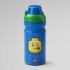 Lego drinking bottle, plastic, food, lunch, children, fun, green