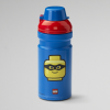 Lego drinking bottle, drinking, collection, lunch, toddler, kid, blue