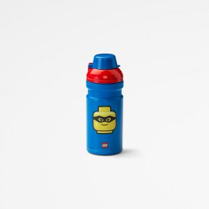 Lego drinking bottle iconic, drinking, collection, lunch, toddler, kid, blue, fun, joy,
