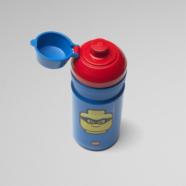 Lego Iconic drinking bottle, fun, collection, food, drink, children, blue