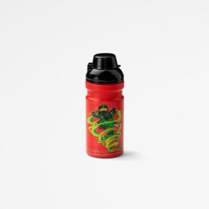 Lego drinking bottle, lunch, drinking, healthy, kids, happy, red, creative,