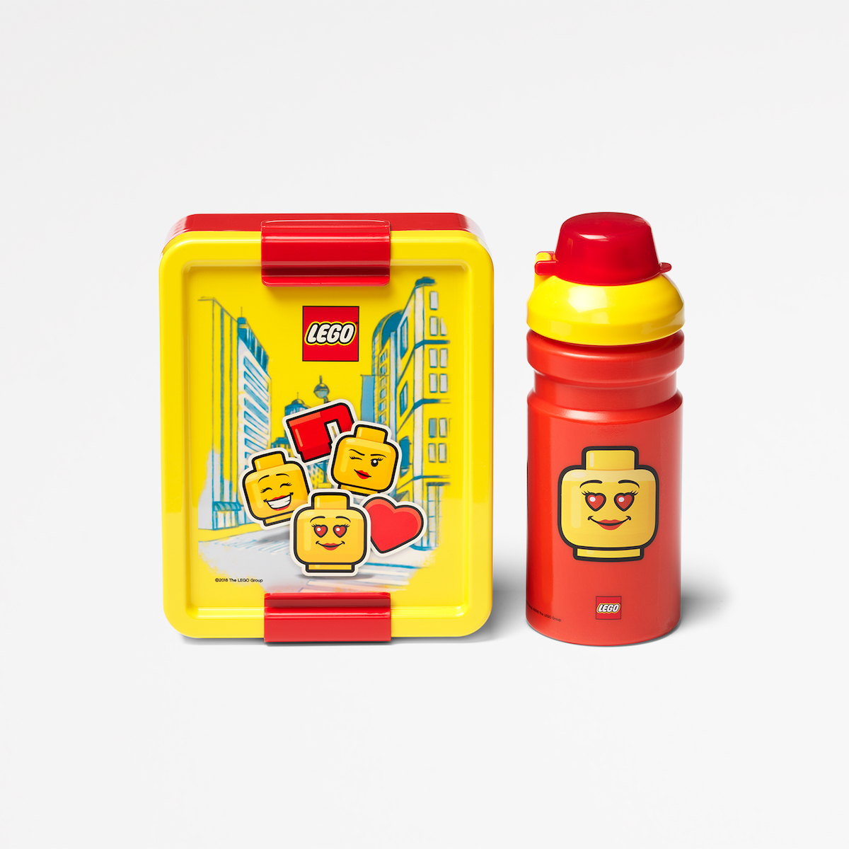 Lego lunch set, lunch, sandwich, nutritious, playful, roomcopenhagen, yellow