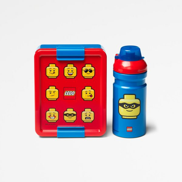 Lego lunch set, collection, food, sandwich, children, fun, blue, Iconic