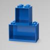Lego, brick shelf set, blue, fun, kid, children, playroom, kidsroom